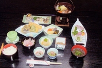 8925円宿泊プランの料理例
