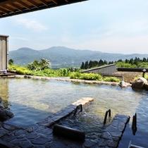 *【展望露天風呂】妙高の山々を一望できる露天風呂