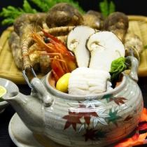 *【松茸プラン/】土瓶蒸し/お出汁と松茸の香りが、食欲をそそります