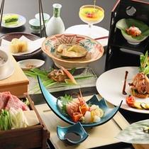 *【太閤御膳「松」】(春~秋イメージ)/新潟の海・山の幸をふんだんに使用した「松」ランクのお食事