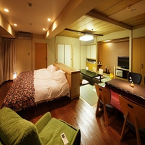 【本館6階】バリアフリー客室<和室10畳+洋室>(54㎡)