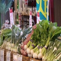 【売店】/3F/あるるん畑から直送!新鮮野菜の朝市
