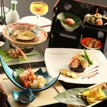 *【太閤御膳】/春~秋:新潟の海・山の幸をふんだんに使用した「松」ランクのお食事です