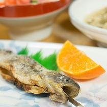 *[夕食一例]ほっと心和む田舎料理
