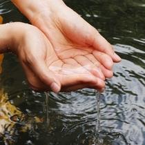 【露天風呂】刺激の少ない単純温泉で、子供もお年寄りも安心してご入浴できます。