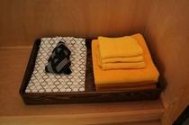 和室 浴衣&タオル