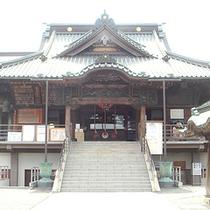*成田山別院/喜多院の北隣に位置して、七福神の「恵比寿天」が祀られています。