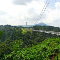 夢吊り橋…車で25分