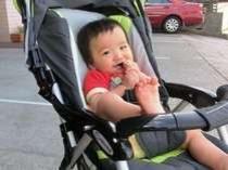 ベビーカー赤ちゃん有り
