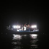 *イカ釣り体験