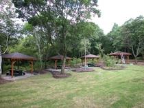 4連棟(BBQ小屋とお庭)