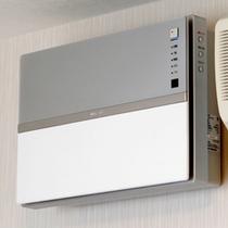 全室に空気清浄器設置!