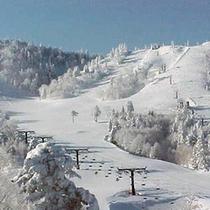 *【冬】熊の湯スキー場徒歩3分!ゴールデンウィーク頃まで滑れます。