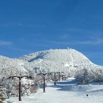 *【冬】横手山ゲレンデは当館より徒歩5分!天然粉雪100%のパウダースノーが魅力!