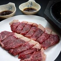 *【夕食一例/冬】「石焼きステーキ」」※ご希望の際はお問い合わせください。