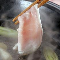 *【夕食一例/千代幻豚のしゃぶしゃぶ】