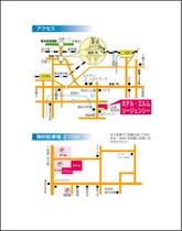■地図・駐車場案内図