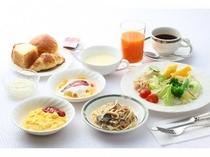 ■朝食バイキング 洋食盛り付け例