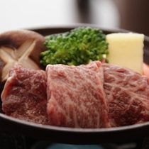 ◆新潟県産和牛の陶板焼き