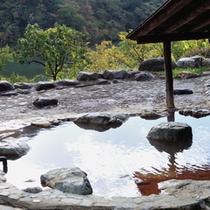 大自然と一体感!貸切野天風呂「荒戸の湯」