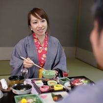 大好きな人と食べるお料理はさらに美味しくって楽しいね!