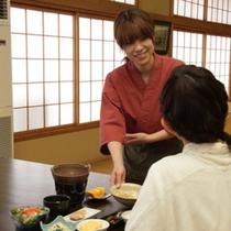 ◆朝食 風景