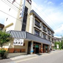 *安達太良山の西麓、中ノ沢温泉のほぼ中央に位置します!