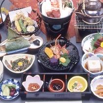 秋の和会席料理一例