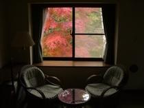 新館和洋室 秋の午後