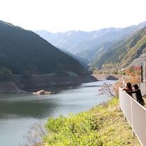 【周辺観光】名栗湖(有馬ダム)大松閣からお車で約5分