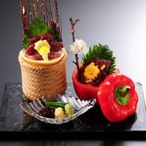 板長のこだわり 彩り豊かな季節の味を、最後まで美味しく召し上がっていただきたい。