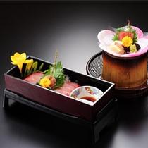 繊細な素材の味を活かしながら、優美な膳に・・