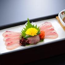 冬の料理 川魚塩焼き(一例)