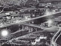昭和34年 渋温泉夜景