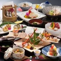 【おかみおすすめプラン】お料理内容ランクアップ!朝夕お部屋食♪(料理一例)