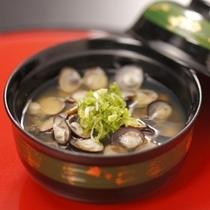 宍道湖産しじみの味噌汁