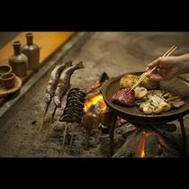 炉端会席料理