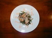 鶏胸肉のベーコンハサミ