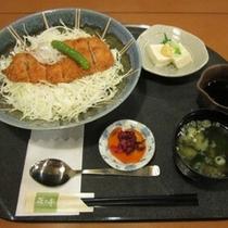 特製ソースカツ丼定食