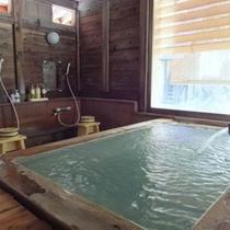 貸切風呂【仙人の湯】※予約制45分※檜を使用した広い造り。ご家族やカップルでどうぞ♪