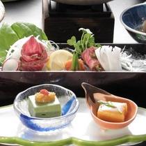 【先付】手練りの自家製豆腐(一例)