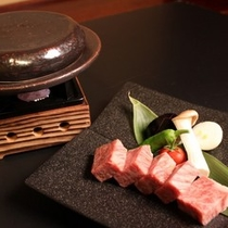 長野県産A5和牛を石焼きで【和牛ステーキ会席プラン】