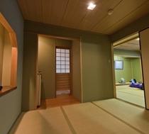 街側客室/海景色は御覧いただけませんが、広々とした明るい和室です。