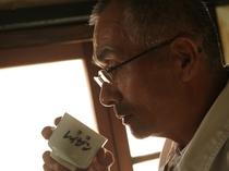 <山村酒造>車で約10分。阿蘇のおいしいお水とお米で作られたお酒は絶品だろうな~。