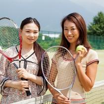 <テニスコート>大自然の中で気持ちの良い汗をかこう!!