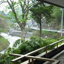 清祥館2階からの眺め一例