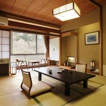 【金涌館】懐かしの昭和風客室 H14.3月リニューアルいたしました。