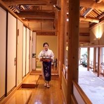 【料亭 山桜】お客様のために、真心を込めて・・・。