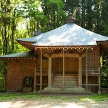 *広泰寺/上杉謙信造営の由緒あるお寺をゆずり受けて移築されました。