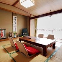 *客室一例/明るい日差しが差し込みます。団欒の時間をお楽しみください。